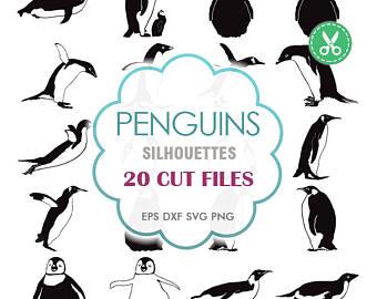 Penguin clipart peguin Clipart Etsy Svg Penguin Digital