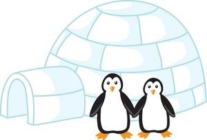 Penguin clipart penguin couple A Art of Their Art