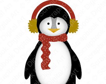 Penguin clipart rain Reyes Art Kings Penguin! Navideño