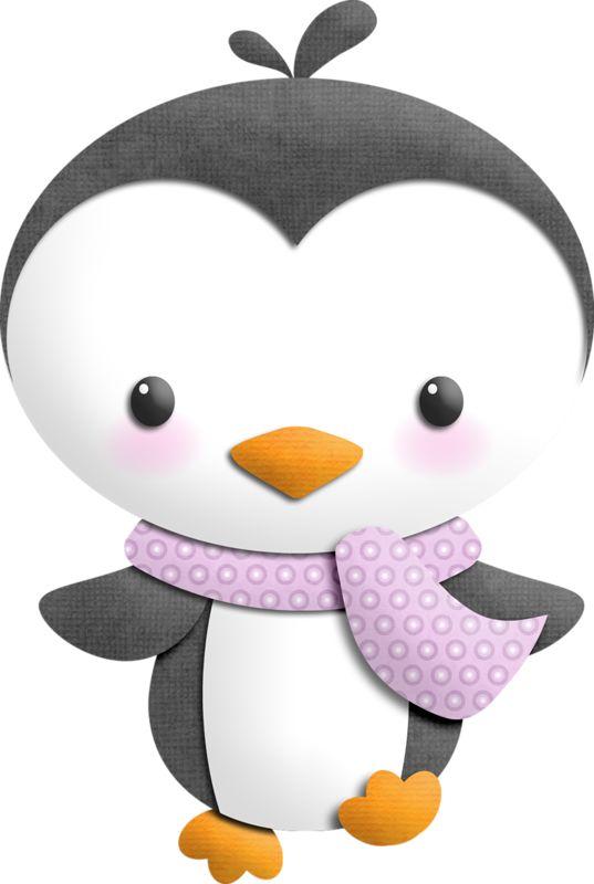Penguin clipart scarf clipart Фотки images animaux PenguinsWinter StuffClip