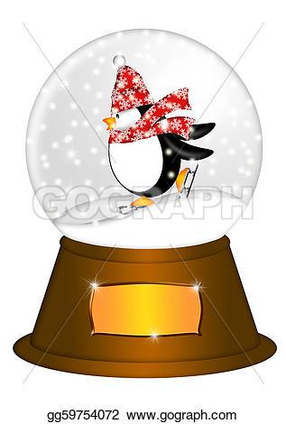 Penguin clipart snow ice Christmas Illustration snow Clip ice