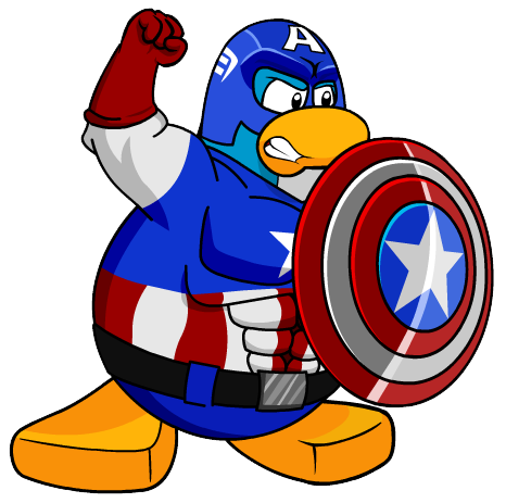 Penguin clipart superhero Free Clip club Penguin Superhero