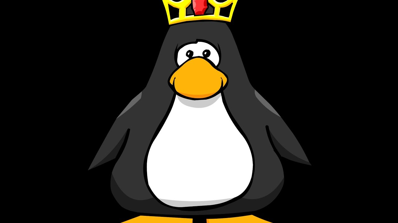 Penguin clipart track By Club YouTube Penguin Track