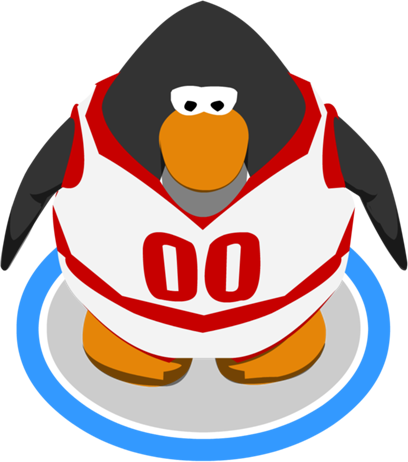 Penguin clipart track Game Red Penguin Club uniforn