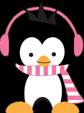 Penguin clipart winter break Use for free Cute Art