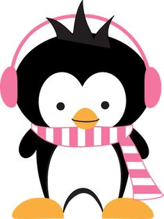 Penguin clipart winter formal And Penguin Pin Minus on