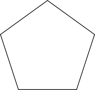 Pentagon clipart geometry Panda Free Clipart Images Free