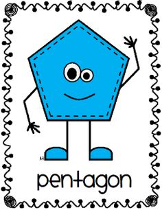 Hexagon clipart pentagon shape Rectangle Pinterest and on this