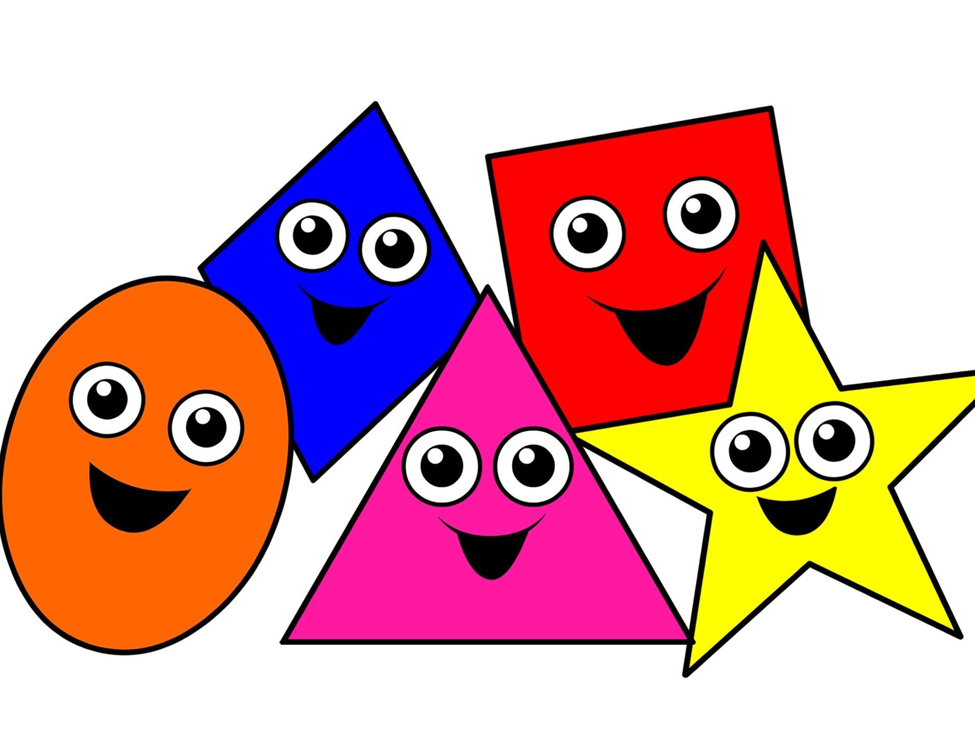 Color clipart shape 2 Lessons Dimensi 2 Tes