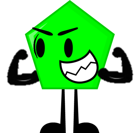 Pentagon clipart object Objects Pose Pose Green png