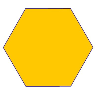 Hexagon clipart heptagon Question Printable pictures Shapes ~