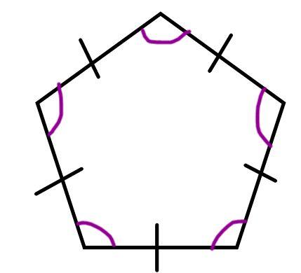 Pentagon clipart polygon To name of regular polygon