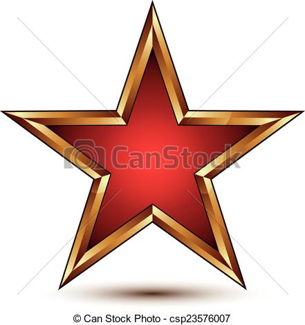 Pentagon clipart red Festive Clipart star vector Refined