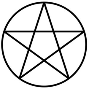 Pentagram clipart drawing Wiccan Sketches NowPublic Photo Pentacle