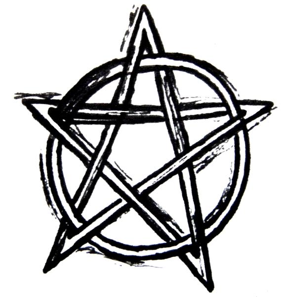 Pentagram clipart drawing DeviantArt SoulScream Messy Messy by