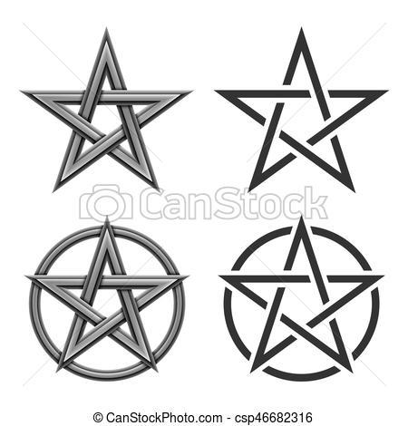 Pentagram clipart drawing Collection Symbol  of Pentagram