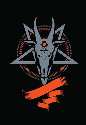 Pentagram clipart goat Symbol goat pentagram Pentagram Symbol