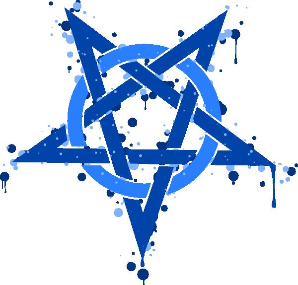 Pentagram clipart vector Clip clip  vector at