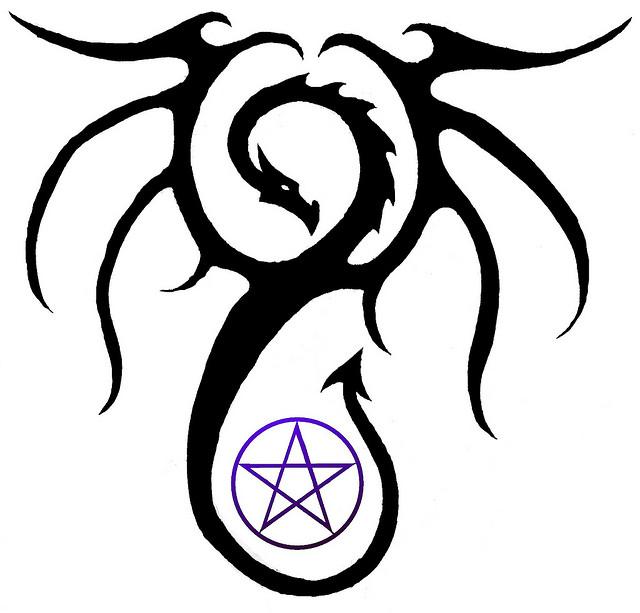 Pentagram clipart vector Clip  on Free Art