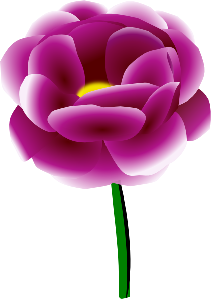 Peony clipart Image free as: Clip royalty