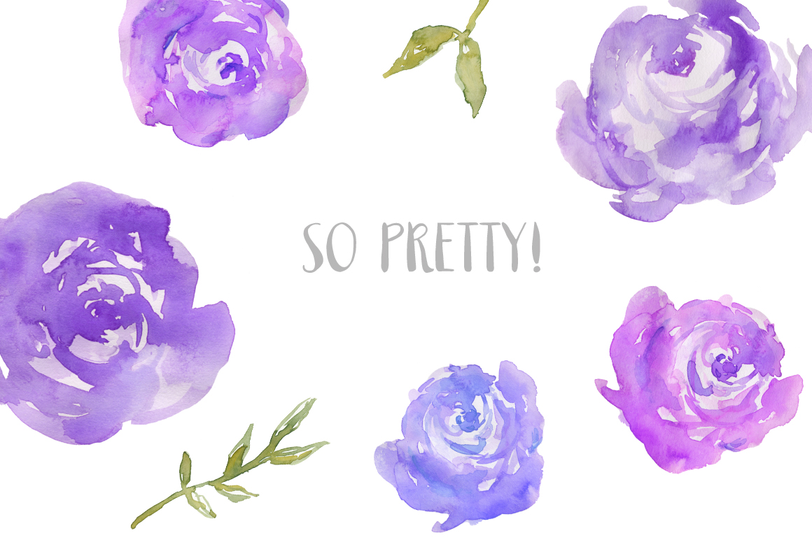 Peony clipart abstract watercolor Watercolor – Peonies These are
