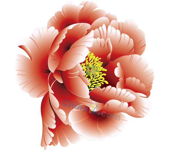 Peony clipart logo Material flowers flowers vector Free