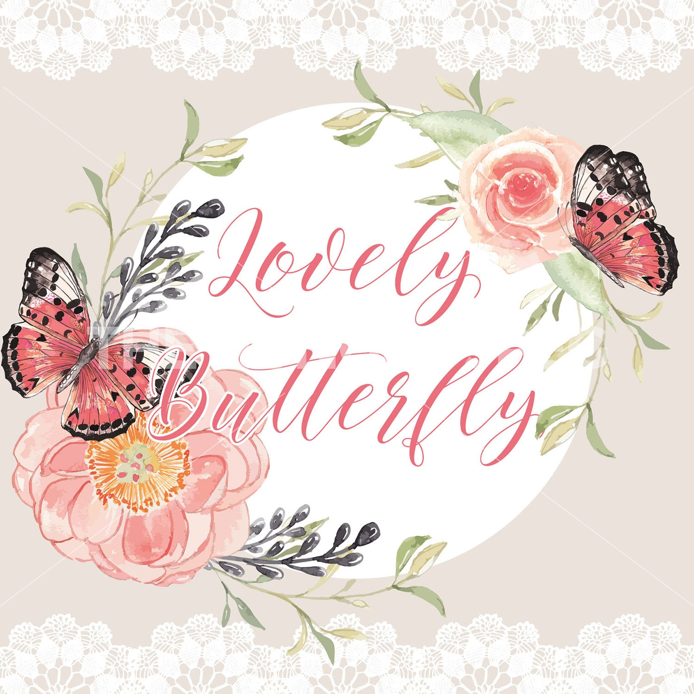 Peony clipart wedding invitation #11