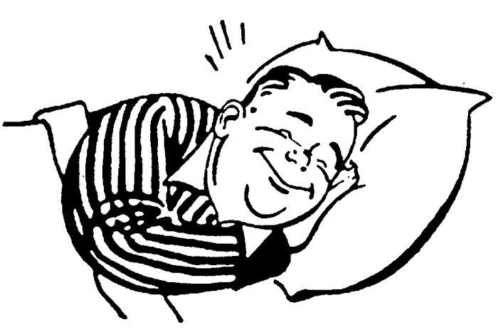 Bed clipart sleepy man 1128 clipart Sleep people Sleepy