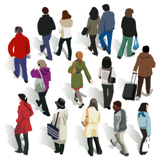 People clipart back 322x322 Of People Resolution Back