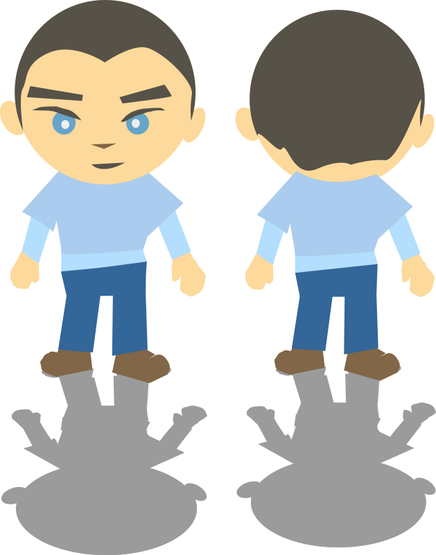 People clipart back Royalty look Kids the Org