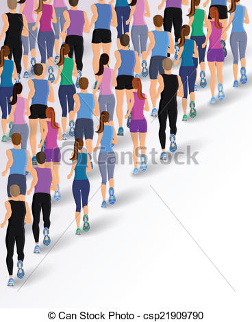 People clipart back  people Group EPS Group
