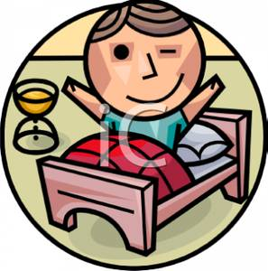 People clipart bed Waking the Royalty Morning Clipart