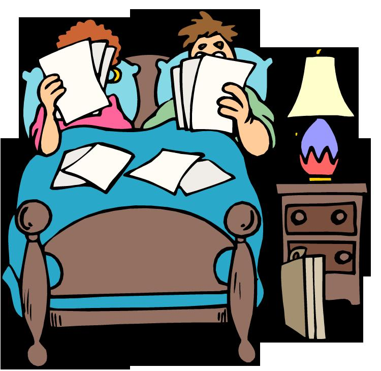 People clipart bed Two a clipart my in