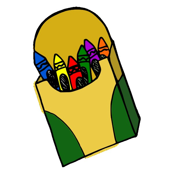Marker clipart box marker Art clipart clipart Crayons Cliparting