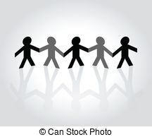 People clipart cut out Holding hands Cutout  Cutout