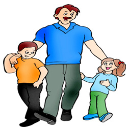 People clipart dad For Day Day Happy Fathers