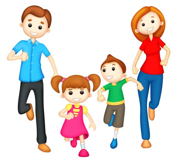 People clipart dad Son daughter collections mom Dad