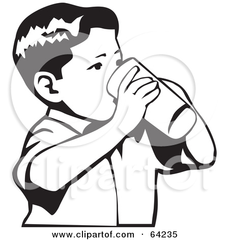 Boy clipart drink water Collection water white clipart Water