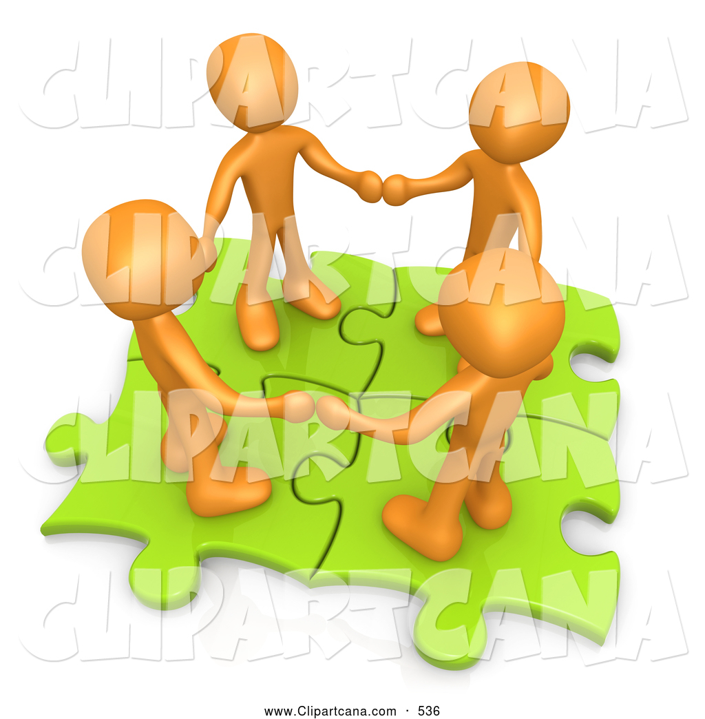 People clipart group four Art Holding Group Holding Hands