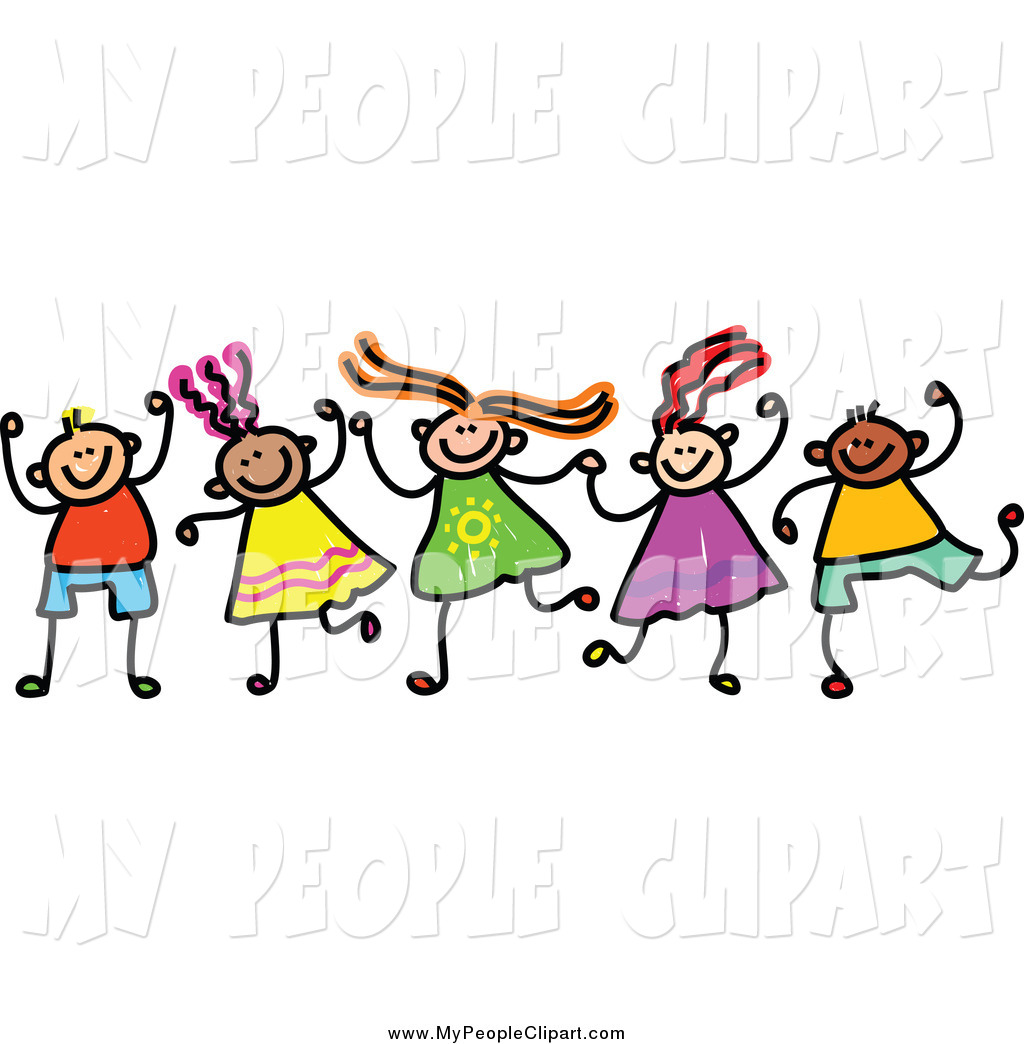 People clipart holding hand Circle holding Kids holding for