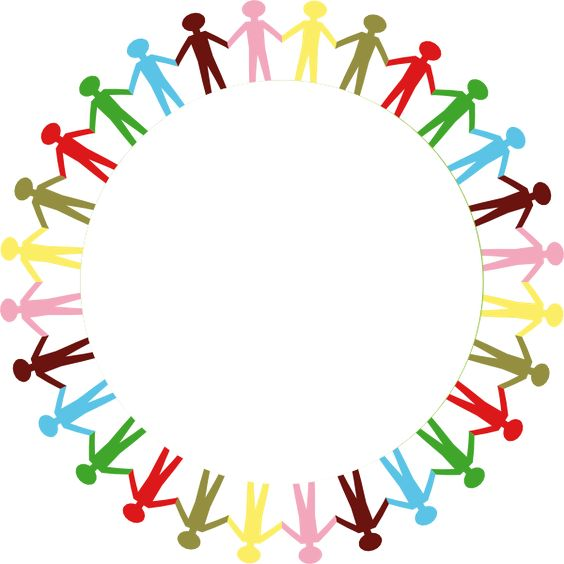 People clipart holding hand Outline hand multi stick Clipartix