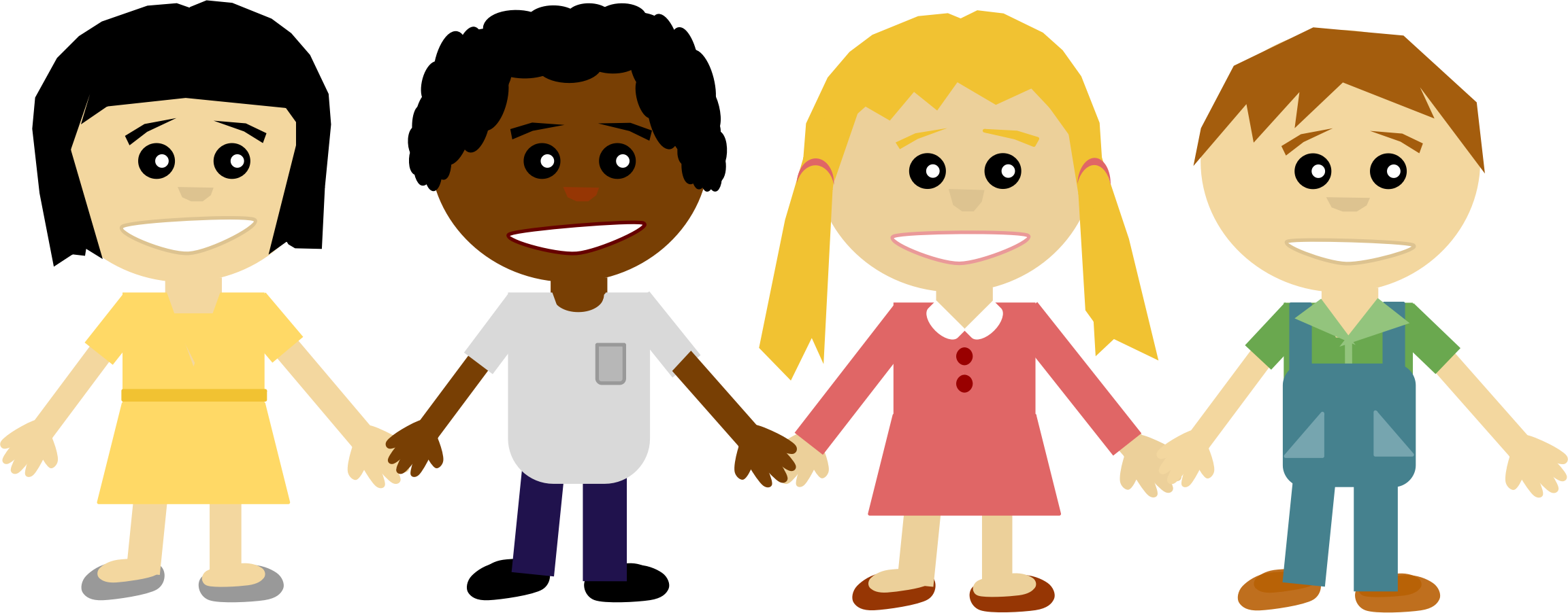 People clipart holding hand 101 – Holding People Art