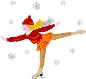 People clipart ice skating Online art Clip Art Art