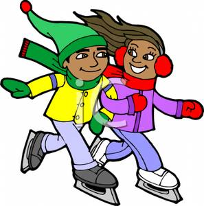 People clipart ice skating Skating Clipart People Clipart Download
