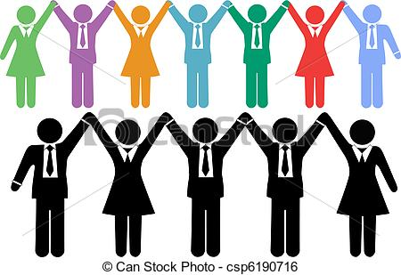 Celebration clipart business team BBCpersian7 symbols people Business holding