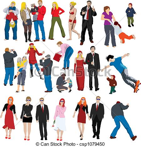 Other clipart many person Cliparts Collection Lots of csp1079450