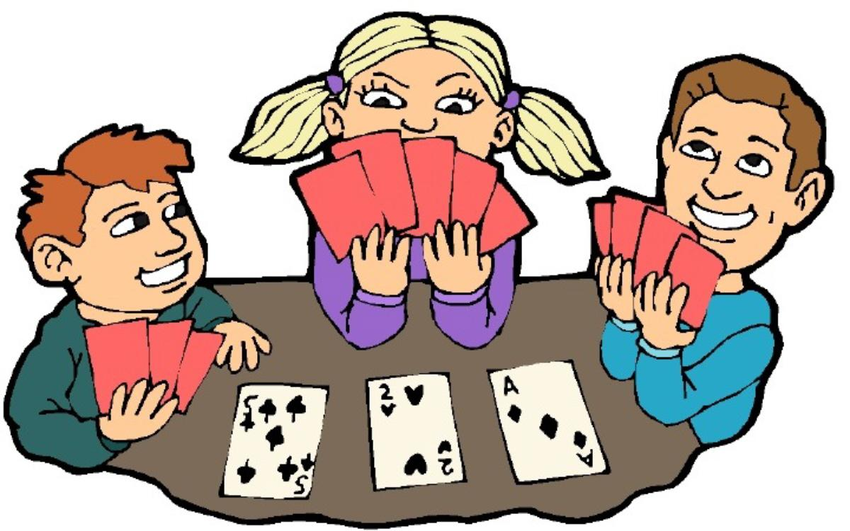 Cards clipart kid Cards People Playing People Download