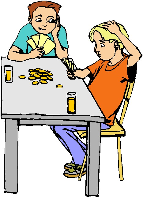 Cards clipart animated Free Playing Clip People Download