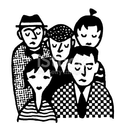 People clipart sad Group clipart Sad collection People