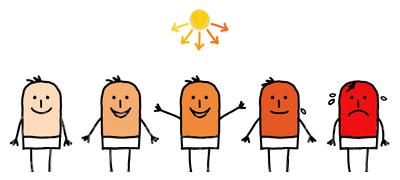 People clipart sunburnt A The Credit: 7 Sunburn